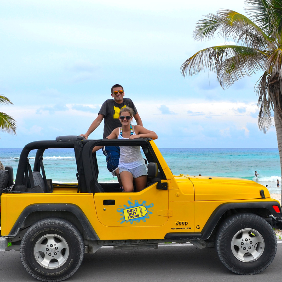 Cozumel Jeep Tour