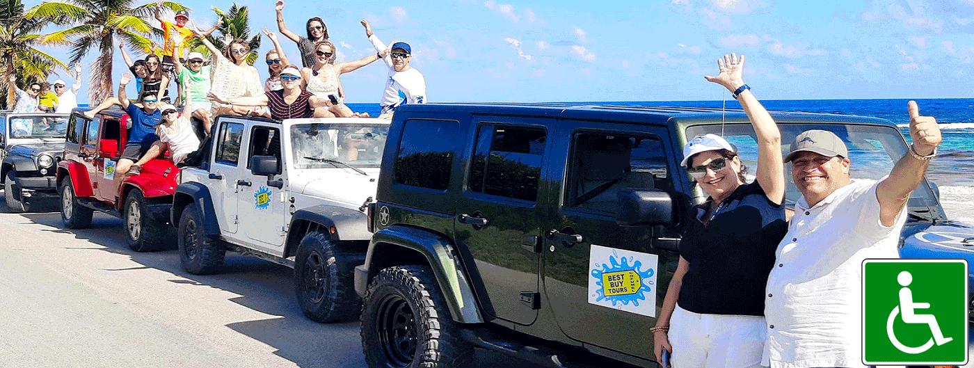 Private Cozumel Jeep Tour